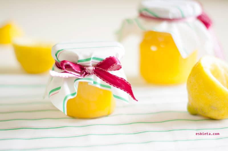 Crema de Limón – Lemon Curd.  Receta fácil