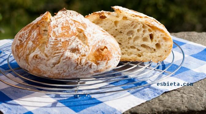 Como hacer pan casero sin amasar receta f cil con v deo for Menu casero facil