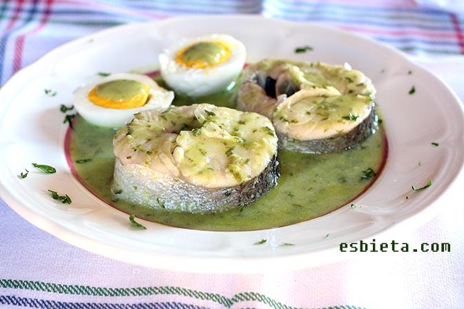 Merluza En Salsa Verde Esbieta