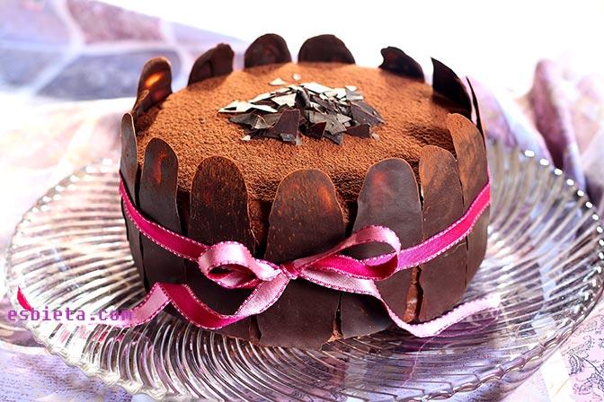 Tarta de Chocolate y Dulce de Leche