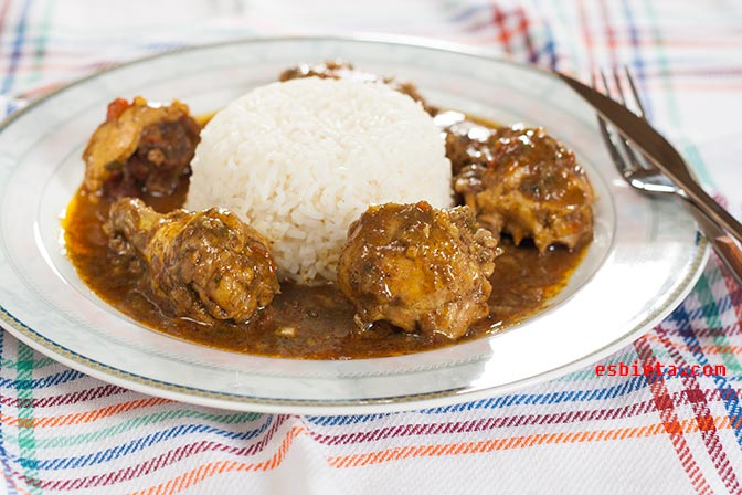 Pollo al curry (I)