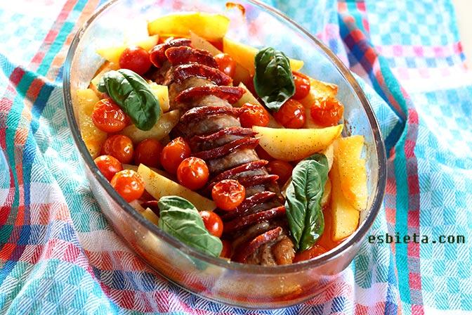 Solomillo de cerdo con chorizo buenisimo - Solomillo a la pimienta al horno ...