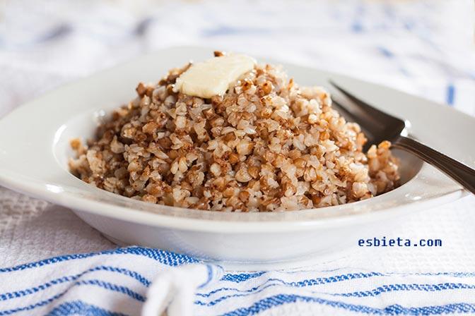 Cómo cocer trigo sarraceno (alforfón)