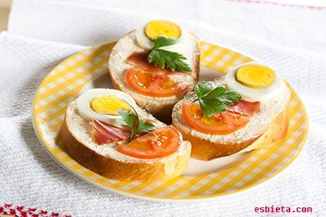 canapes-jamon-huevo