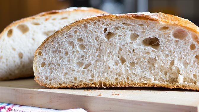 Pan con Masa Madre ¡Receta fácil!
