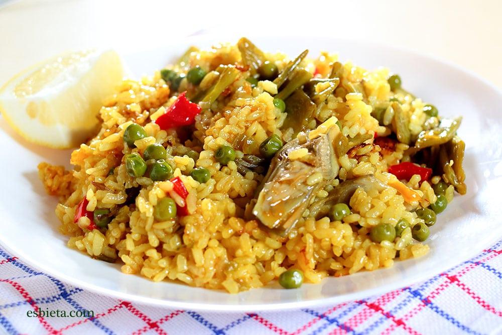 Arroz con verduras esbieta - Arroz con verduras y costillas ...