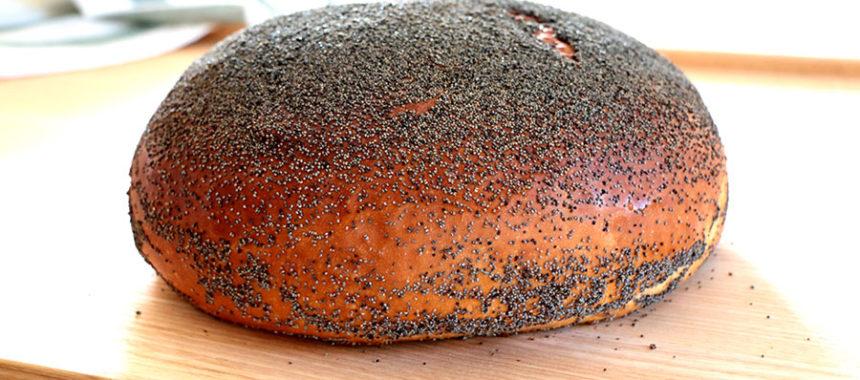 Pan de Patata con Semillas de Amapola