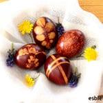 Cómo decorar huevos de Pascua con ¡colorante natural!
