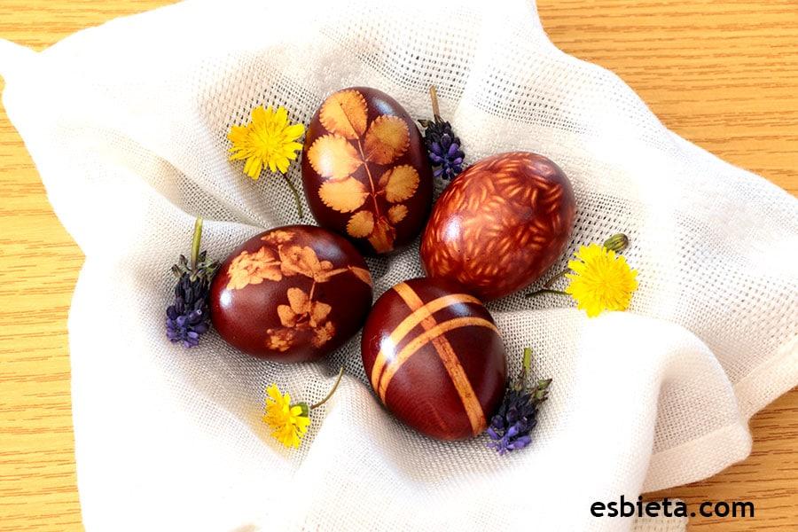 C mo decorar huevos de pascua con colorante natural for Como pintar huevos de pascua