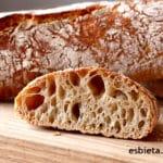 Pan de barra stirato - SIN AMASAR - Receta fácil