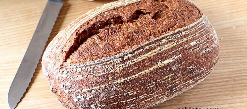 Pan batard integral 100% de masa madre NATURAL