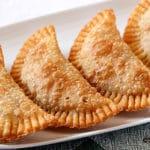 Masa de empanadillas para freír auténtica ¡Sólo 3 ingredientes!
