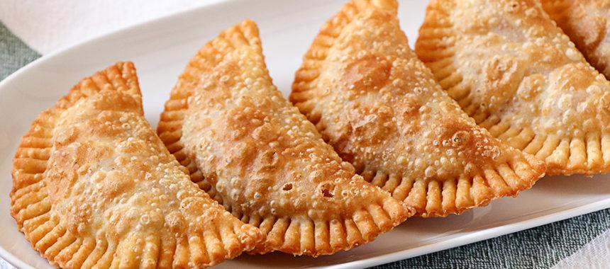 Masa de empanadillas para freír auténtica – Solo 3 ingredientes