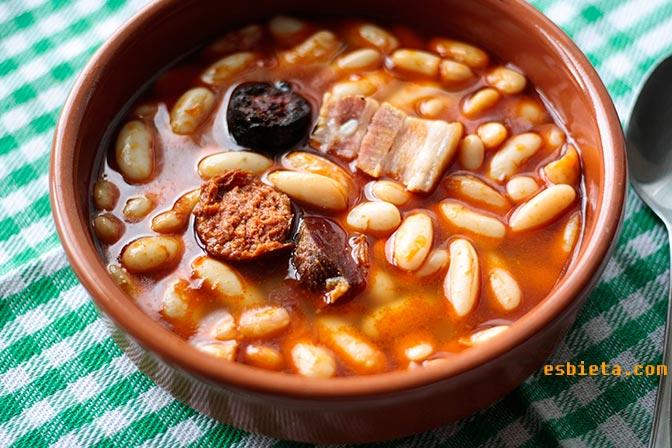 Fabada asturiana. Receta fácil paso a paso con fotos