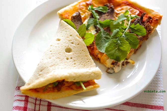 salsa casera de tomate para pizza
