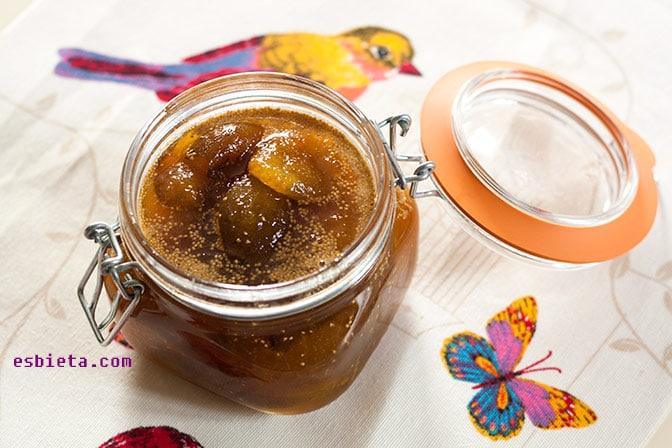 mermelada de higos y naranja