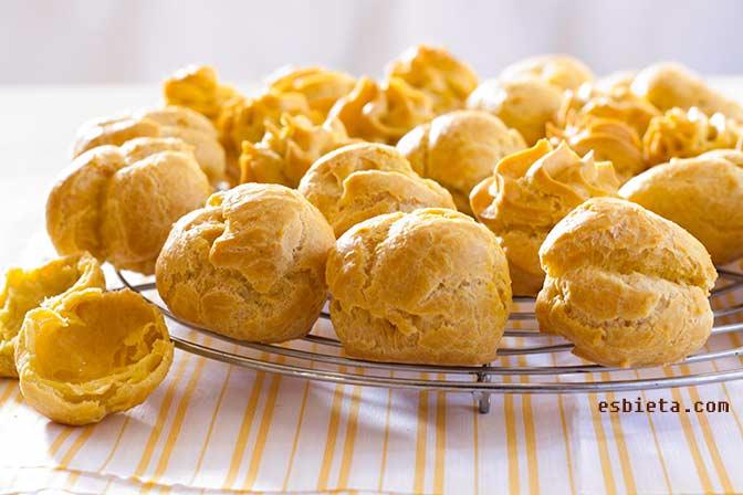 Profiteroles – Pasta choux