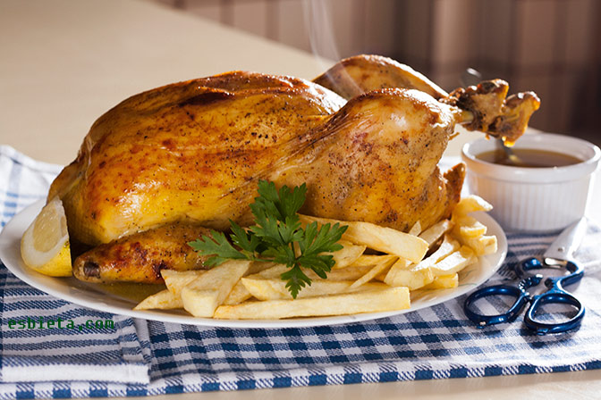 Pollo asado