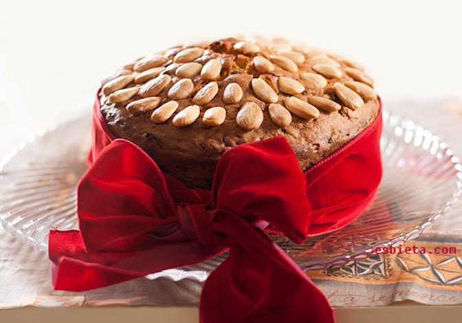 Pastel de fruta – Dundee cake