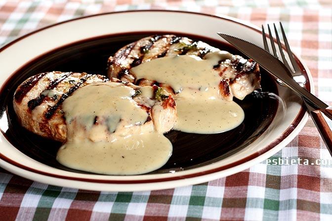 Salsa roquefort casera fácil