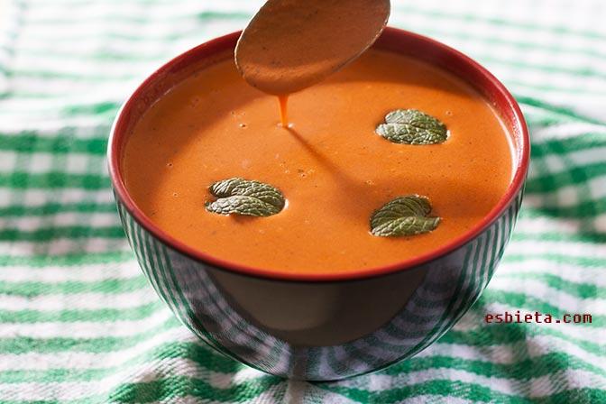 Salsa de Tomate y Nata