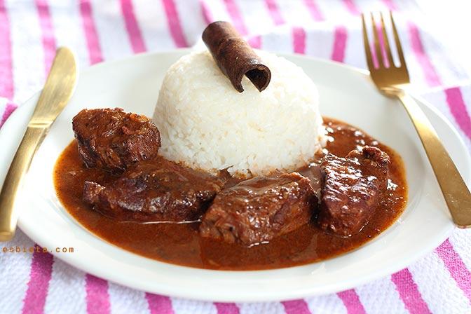 Estofado de Ternera al Curry