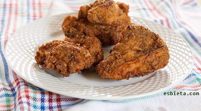 pollo frito cajún