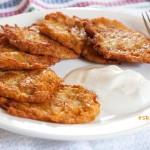 tortitas de patata o kartoffelpuffe