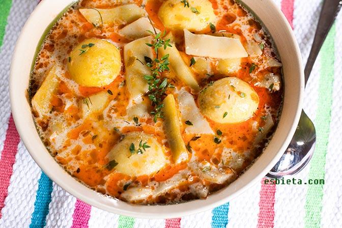 Potaje de judías verdes y patatas