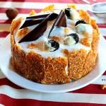 tarta de ciruelas pasas