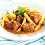 Carne Estofada a la Milanesa