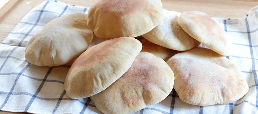 Pan de pita auténtico. Receta ¡Con Trucos!
