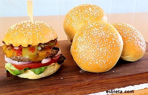 hamburguesas americanas caseras