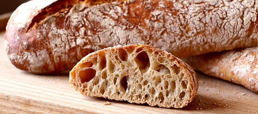 Pan de barra stirato – Pan SIN AMASAR
