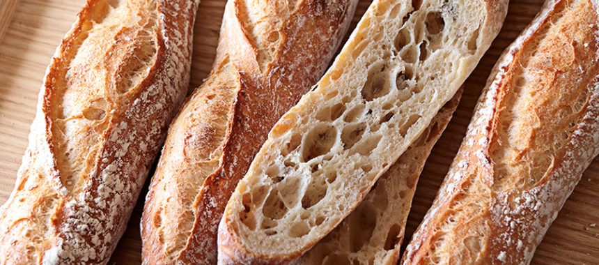 Pan baguette italiano «Sfilatino»