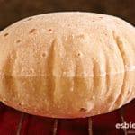 Chapati - Pan sin levadura, sin horno ¡En sartén!
