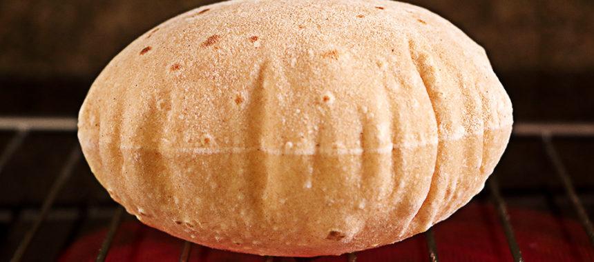 Chapati – Pan sin levadura, sin horno ¡En sartén!