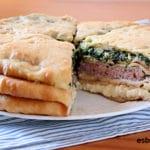 Empanada de 3 rellenos osetia - ¡700 años de antigüedad!