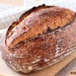 Pan batard de masa madre natural ¡Con harina del super!