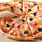pizza casera rápida
