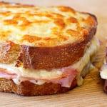 Sándwich croque monsieur - Receta fácil y rica