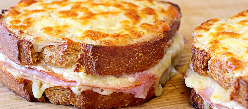 Sándwich croque monsieur – Receta fácil y rica