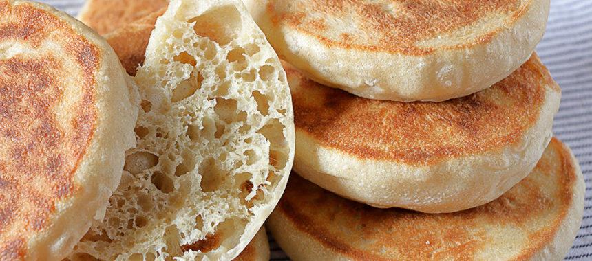 Pan sin horno hecho en sartén – Fácil y auténtico