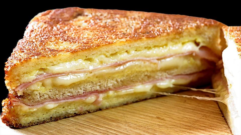 sándwich monte cristo