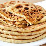Khachapuri de queso - Tortillas de trigo y queso