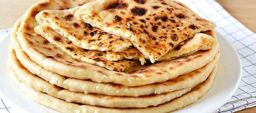 Khachapuri de queso – Tortillas de trigo y queso