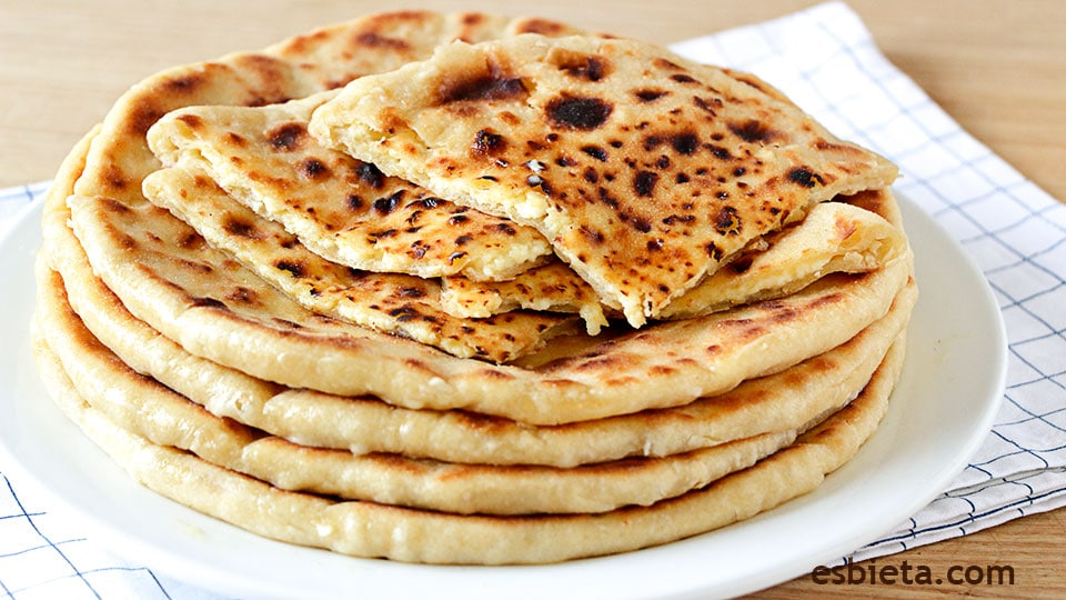 tortillas de queso khachapuri