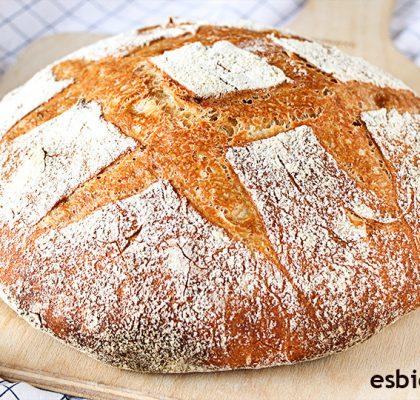 pan casero fácil de hacer pocos ingredientes