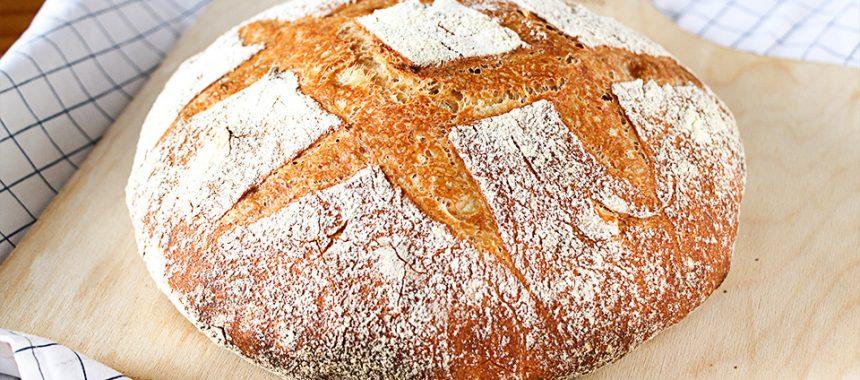 Pan casero fácil de hacer – Pocos ingredientes