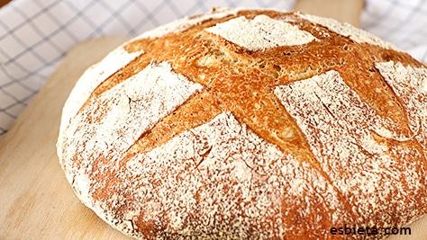 pan casero fácil de hacer y con pocos ingredientes